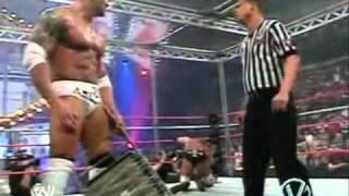 Undertaker Vs Brock Lesnar Vs Batista