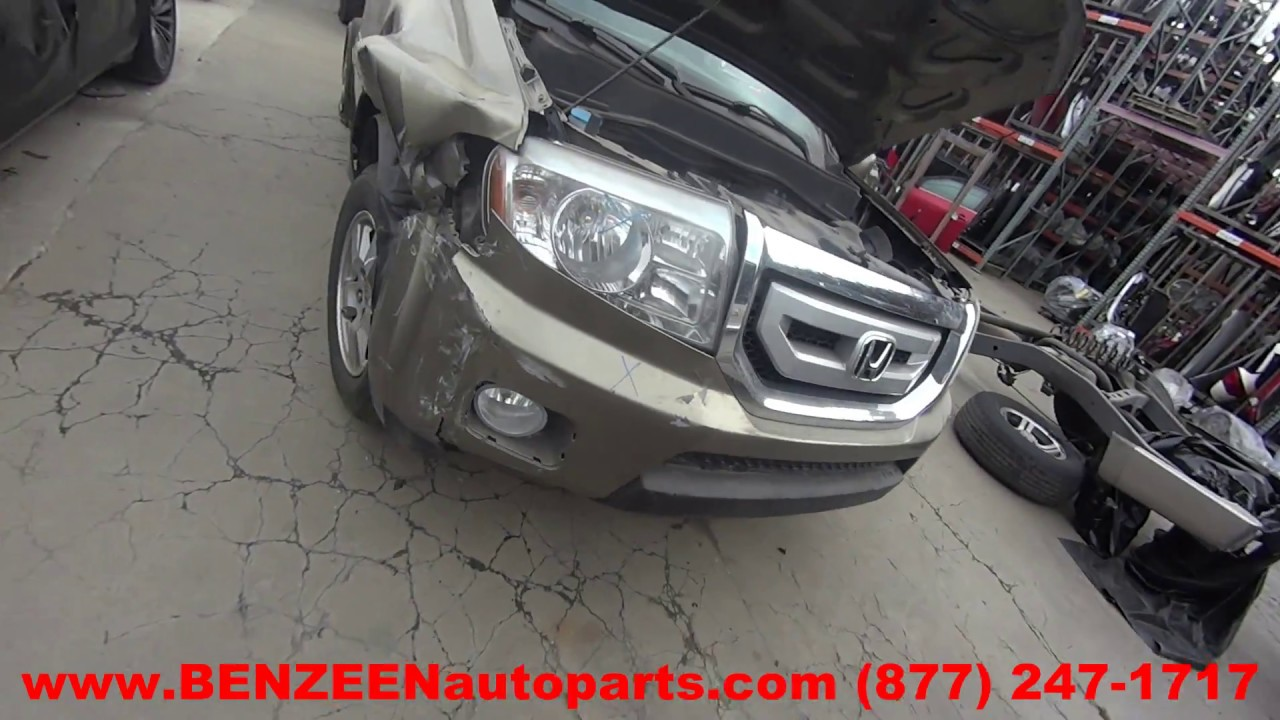 Parting Out 2011 Honda Pilot Stock 7191bl Tls Auto Recycling Hitch Wiring