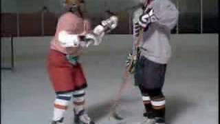 Roenick Vs Morgan ESPN Hockey Commercial