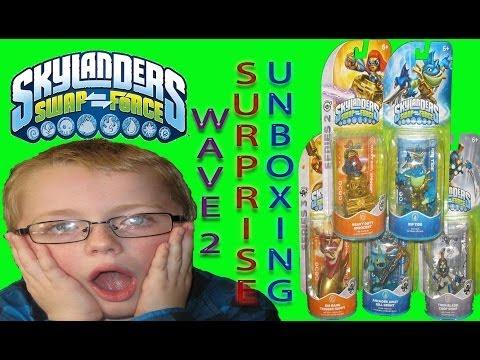 Skylanders Swap Force Wave 4 Chemical