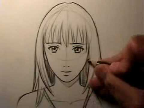 "How To Draw a ""Realistic"" Manga Face: Female, Want to support me and my videos? Order a copy of one of my books: http://www.markcrilley.com/childrensbookscomics.html If you prefer to buy books at actual ..."