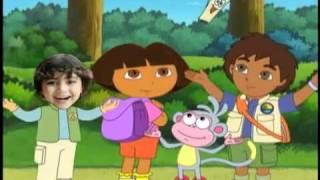 Dora, Diego And Me Personalized DVD