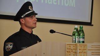 Очільник нової патрульної поліції Харкова Євген Мельник