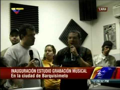 Inces Tv (cortesia de VTV) 2do Estudio de grabación inaugurado en Lara