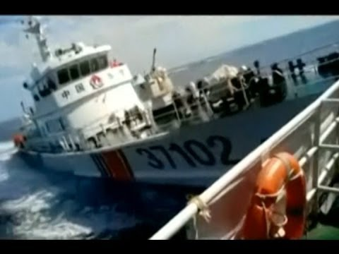 Video Shows Collision Between Chinese Ships And Vietnamese Vessels
