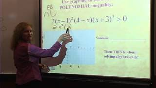 College Algebra: Lecture 18 - Solving Polynomial and Rational Inequalities