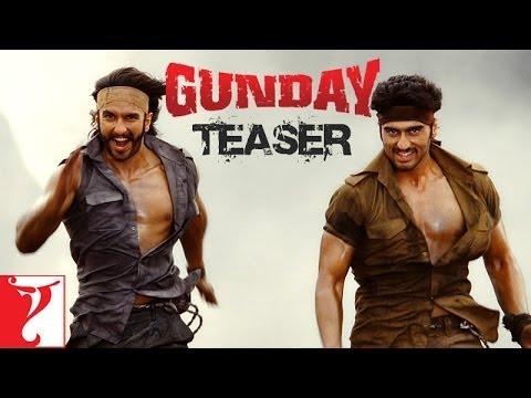 Gunday - Teaser - Ranveer Singh   Arjun Kapoor   Priyanka Chopra   Irrfan Khan