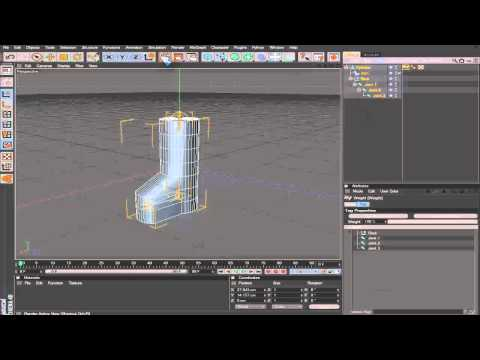 Tutorial # 1 | Como crear huesos 1 | Cinema 4D