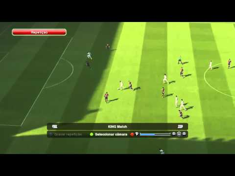 Golaço com Cristiano Ronaldo