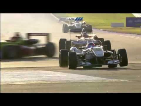 Felix Serralles Stupid Crash @ 2013 F3 Euro Series Hockenheim