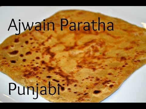 Ajwain Paratha Authentic Punjabi recipe video of Carom Bread by Chawla's Kitchen