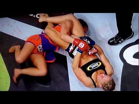 GRAPHIC ARMBAR. Ronda Rousey vs. Miesha Tate for the Strikeforce Bantamweight Title.