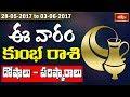 Aquarius Weekly Horoscope By Sankaramanchi    28 May 2017 - 03 June 2017    Bhakthi TV