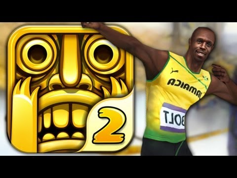 Temple Run 2 - USAIN BOLT - Part 10 (iPhone Gameplay Video)