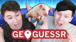 HELP WE ARE SO LOST 🌎🤔 - Dan vs. Phil: GeoGuessr