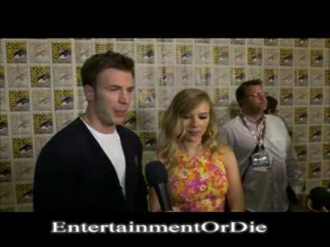 Chris Evans and Scarlett Johansson React To Captain America 2