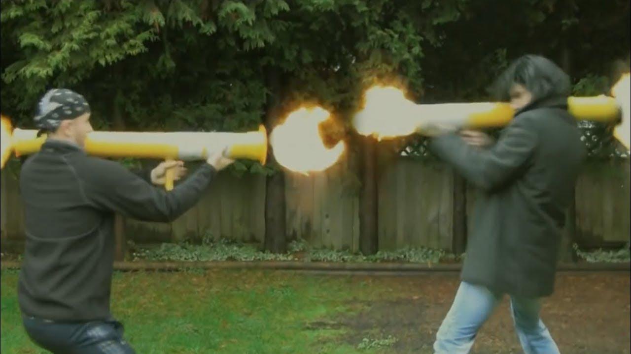 NERF Bazooka Deathmatch! - YouTube