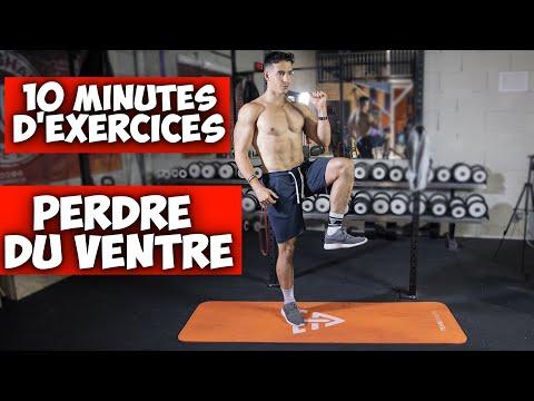 10 minutes d'exercices pour perdre du ventre sans saut !