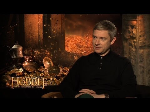 Martin Freeman on The Hobbit: The Desolation of Smaug - Film 2013: Episode 14 Preview - BBC One