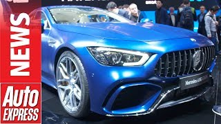 Monstrous 630bhp Mercedes-AMG GT four-door Coupe unleashed at Geneva. Auto Express.