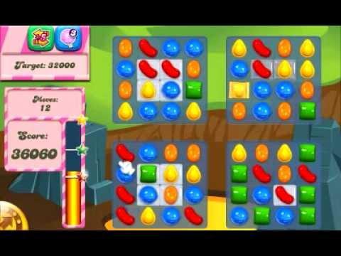 Candy Crush Saga Level 33 - YouTube