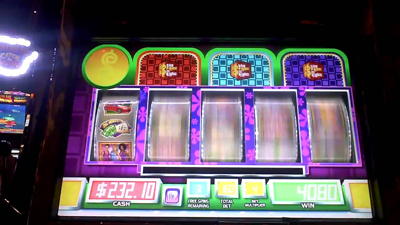 price is right slot machine