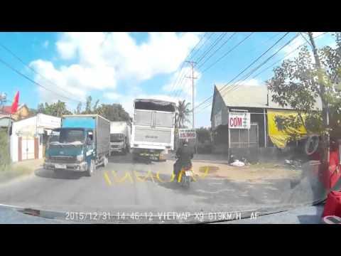 Clip tai nạn giao thông mới nhất ở Củ Chi (TP HCM)