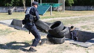 «Змагання патрулів» – квест для майбутніх поліцейських на фізичну підготовленість