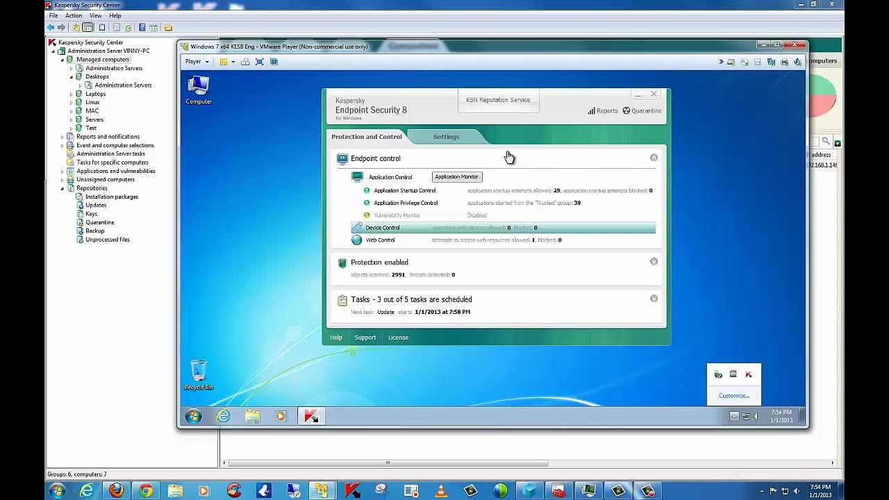 Kaspersky Endpoint Security 8