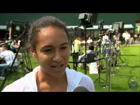Heather Watson takes the Wimbledon fan quiz