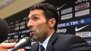 Juventus, Buffon sull'arbitro: 'Non è che chi pensa sbaglia...'
