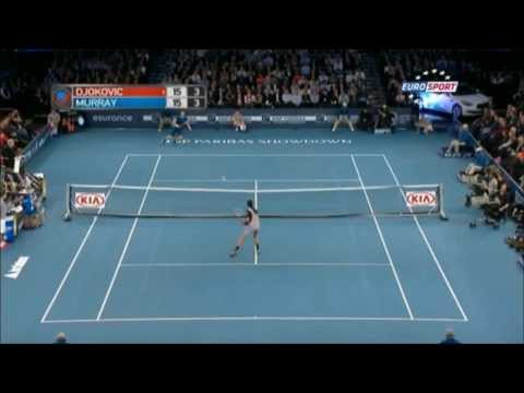 Novak Djokovic vs Andy Murray | Exhibition at Madison Square 【Full HD】