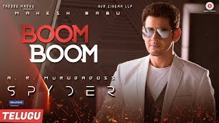 Spyder-Movie-Boom-Boom-Song