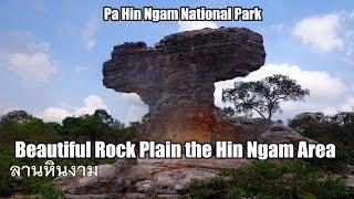 Beautiful Rock Plain the Hin Ngam Area