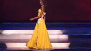 Venezuela Miss Universe 2008 Presentation Evening Gown