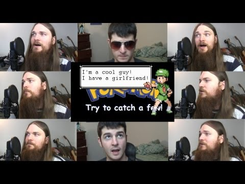 Pokmon theme parody acapella - 'Try to catch a few' ft. Dookieshed