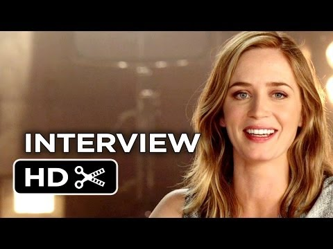Edge of Tomorrow Interview - Emily Blunt (2014) - Sci-Fi Action Movie HD