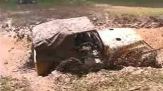 "Truck Mud Bog Racing At ""Challenge In The Hills"" 2009 Video 1"
