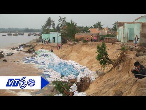 Đê biển 'dở dang', dân xứ Nghệ 'gánh' hậu quả   VTC