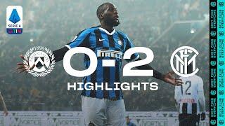 "UDINESE 0-2 INTER | HIGHLIGHTS | Two second-half goals from Romelu ""Big Rom"" Lukaku! 🥰⚫🔵??"