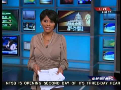 tamron hall  shows off body