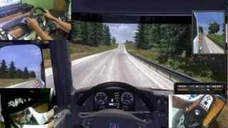 Euro Truck Simulator 2 G27 Gameplay (Carga Pesada)