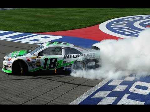 NASCAR Auto Club extended race highlights
