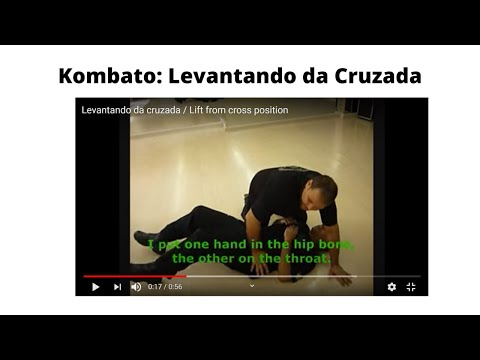 Levantando da cruzada / Lift from cross position