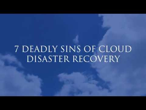 Indicium 7 Deadly Sins of Disaster Recivery in the Cloud