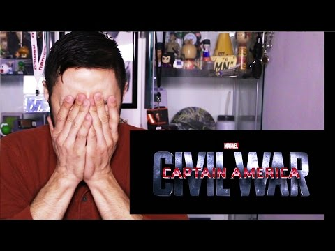 CAPTAIN AMERICA: CIVIL WAR Trailer 2 Jaby's reaction!