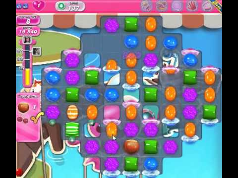 How to beat Candy Crush Saga Level 137 - 3 Stars - No Boosters - 52