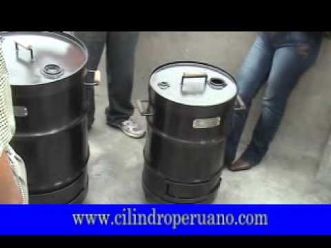 Características del cilindro hornero - Cilindro Peruano