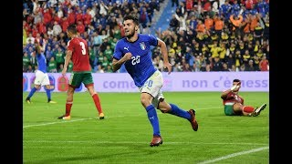 Highlights Under 21: Italia-Marocco 4-0 (10 ottobre 2017)