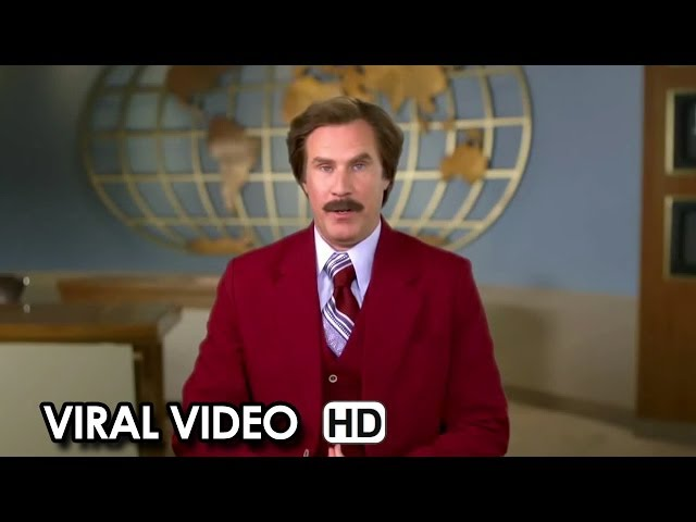 Anchorman 2: The Legend Continues Viral Video - Chanukah Message (2013) HD